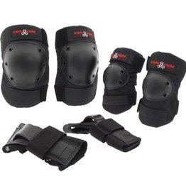 Triple Eight Triple Eight- Saver Series- Elbow, Knee and Wrist Pad- 3 pack- High Impact