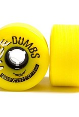 Free Wheels Free- Dumbs- Gold- 64mm- 78a- Wheels