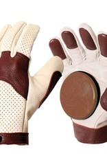 Landyachtz Landyachtz- Khaki and Brown- Burley Slide Gloves
