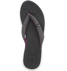 Reef Reef- Rover- Women's Flip Flop- Black and White