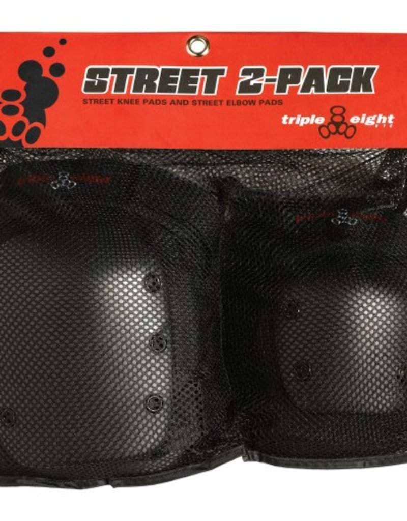 Triple Eight Triple Eight- Street- Knee and Elbow Combo- 2 Pack
