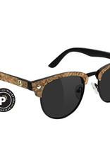Glassy Sunglasses Glassy- Morrison- Premium Polarized- Dashawn- Black/Cork- Sunglasses