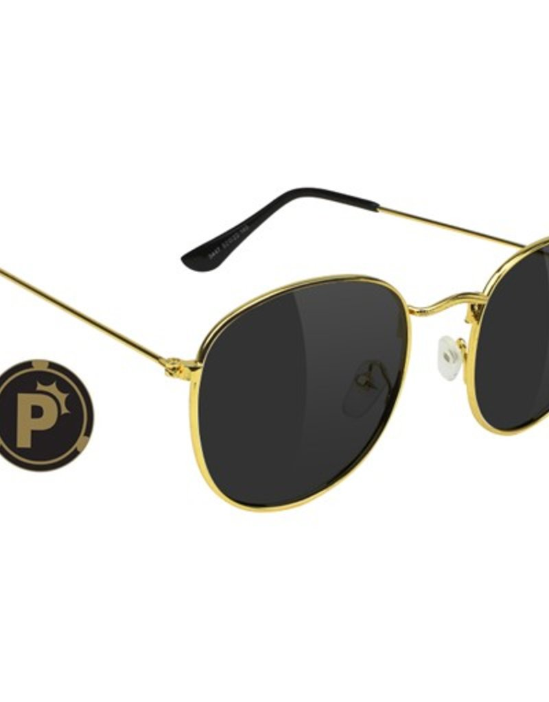 Glassy Sunglasses Glassy- Pierce- Polarized- High Roller- Gold- Sunglasses