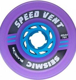 Seismic Seismic- Speed Vent- 85mm- 79a- Translucent Purple- Wheels