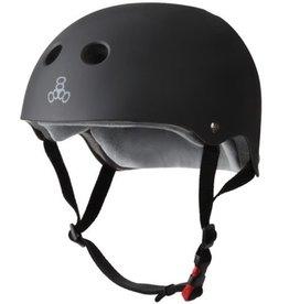 Triple Eight Triple Eight- Certified Sweatsaver- Black Rubber- S/M- Helmet