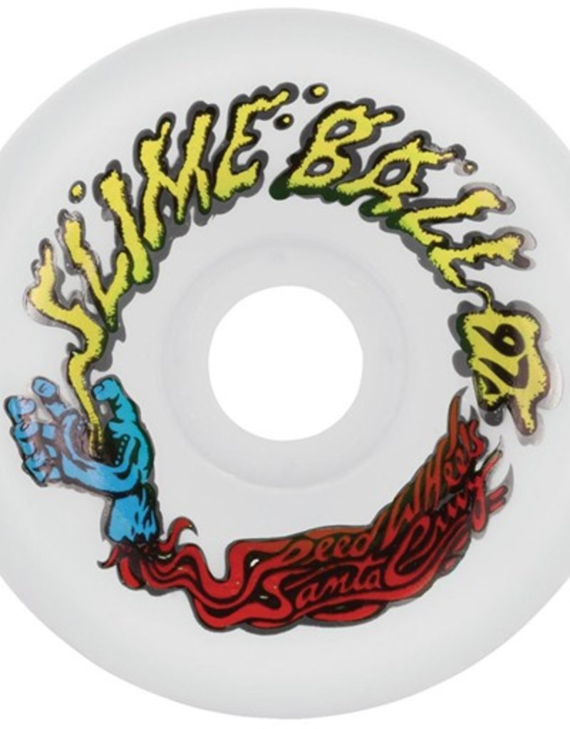 Santa Cruz Santa Cruz- Slime Balls- Vomits- 60mm- 97a- White- Wheels