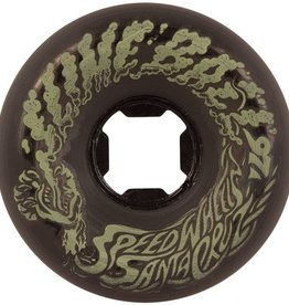 Santa Cruz Santa Cruz- Slime Balls- Vomit Mini- 56mm- 97a- Black Glow- Wheels