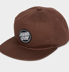 Santa Cruz Santa Cruz- Aptos- Snapback- Dark Tan- Hat