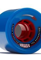 Landyachtz Landyachtz- Rocket Hawgs- 63mm- 78a- Blue- Wheels