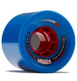 Landyachtz Landyachtz- Rocket Hawgs- 63mm- 78a- Blue- Wheels