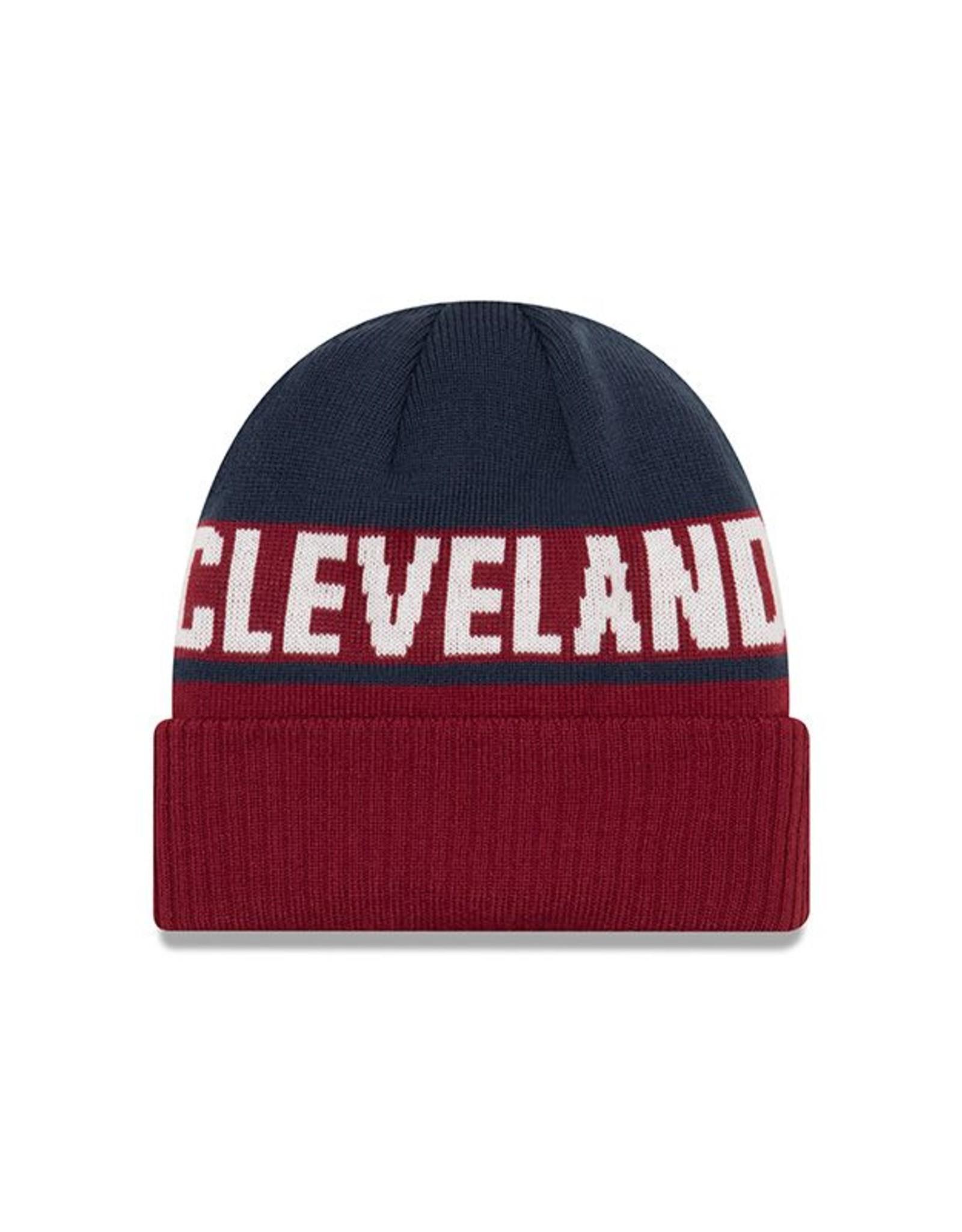 NEW ERA Cleveland Cavaliers Chilled Cuff Knit Hat
