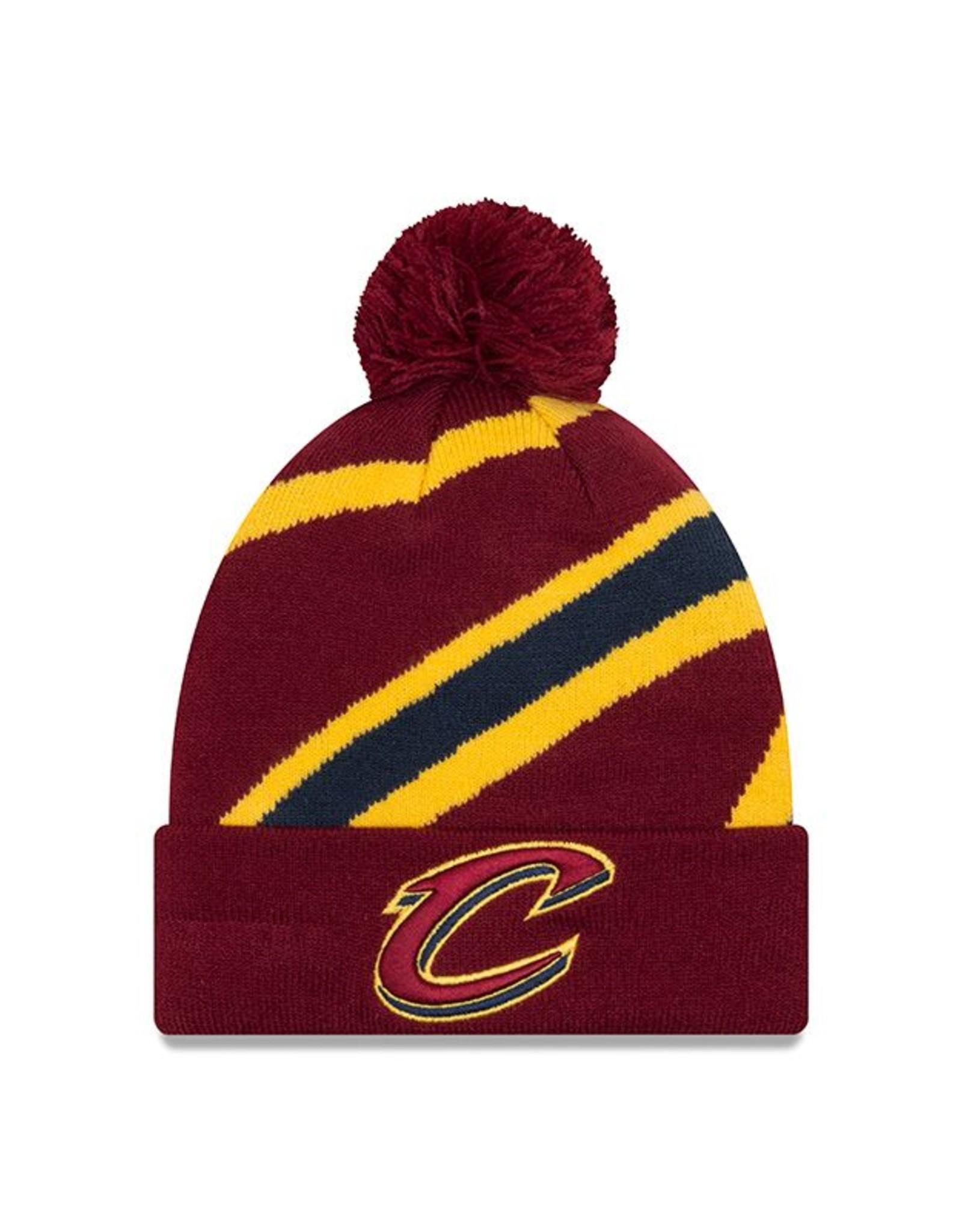 NEW ERA Cleveland Cavaliers New Era Logo Whiz 3 Knit Hat