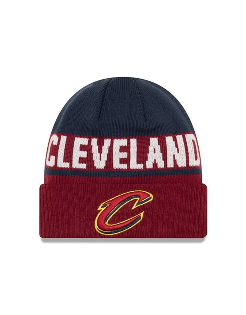 bfb4c2da98cdda NEW ERA Cleveland Cavaliers Chilled Cuff Knit Hat - Touchdown Gifts ...