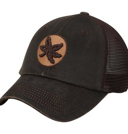 TOP OF THE WORLD Ohio State Chestnut Waxed Cotton Adjustable Cap
