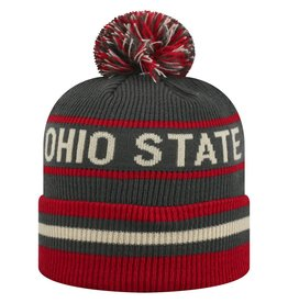 TOP OF THE WORLD Ohio State Coast 3 Cuffed Knit Hat