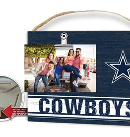 KINDRED HEARTS Dallas Cowboys Team Color Clip It Photo Frame