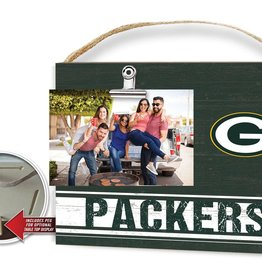 KINDRED HEARTS Green Bay Packers Team Color Clip It Photo Frame