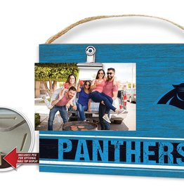 KINDRED HEARTS Carolina Panthers Team Color Clip It Photo Frame