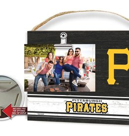 KINDRED HEARTS Pittsburgh Pirates Team Color Clip It Photo Frame