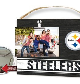 KINDRED HEARTS Pittsburgh Steelers Team Color Clip It Photo Frame