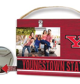 KINDRED HEARTS Youngstown State Penguins Team Color Clip It Photo Frame