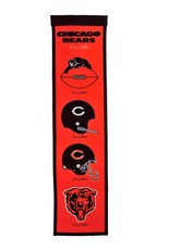 WINNING STREAK SPORTS Chicago Bears Fan Fave Heritage Banner
