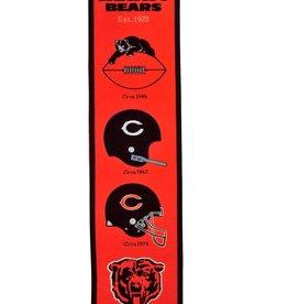 WINNING STREAK SPORTS Chicago Bears Fan Fave Heritage Banner