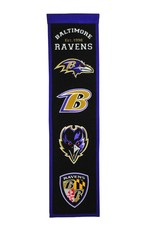 WINNING STREAK SPORTS Baltimore Ravens Fan Fave Heritage Banner