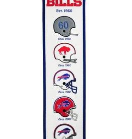 WINNING STREAK SPORTS Buffalo Bills Fan Fave Heritage Banner
