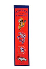 WINNING STREAK SPORTS Denver Broncos Fan Fave Heritage Banner