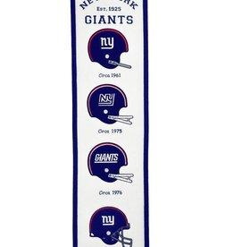 WINNING STREAK SPORTS New York Giants Fan Fave Heritage Banner
