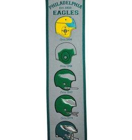 WINNING STREAK SPORTS Philadelphia Eagles Fan Fave Heritage Banner