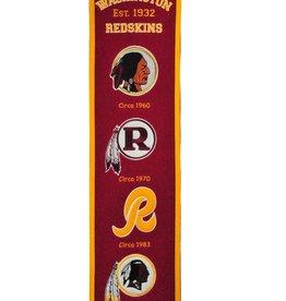 WINNING STREAK SPORTS Washington Redskins Fan Fave Heritage Banner