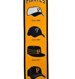WINNING STREAK SPORTS Pittsburgh Pirates Fan Fave Heritage Banner