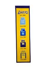 WINNING STREAK SPORTS Los Angeles Lakers Fan Fave Heritage Banner