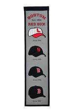 WINNING STREAK SPORTS Boston Red Sox Fan Fave Heritage Banner