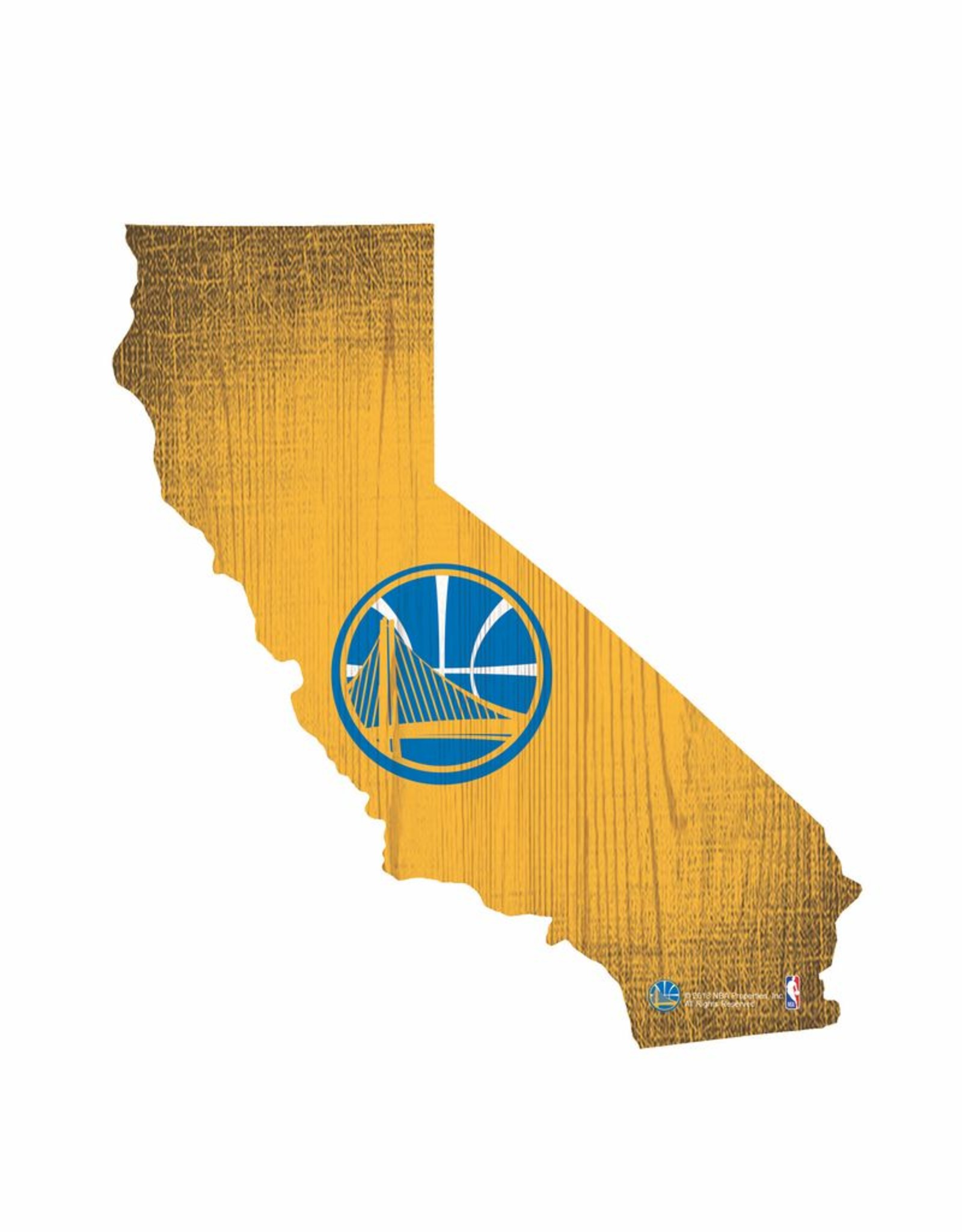 Golden State Warriors Team Logo State Sign