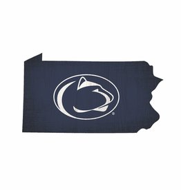 FAN CREATIONS Penn State Nittany Lions Team Logo State Sign