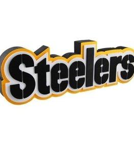 Pittsburgh Steelers 3D Foam Logo Sign - Font
