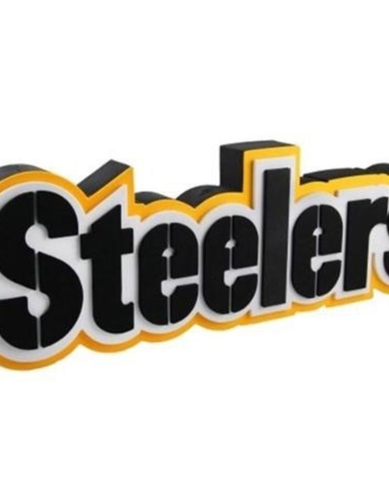 fed32aa2 Pittsburgh Steelers 3D Foam Logo Sign - Font