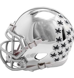RIDDELL Ohio State Buckeyes Chrome Mini Speed Helmet