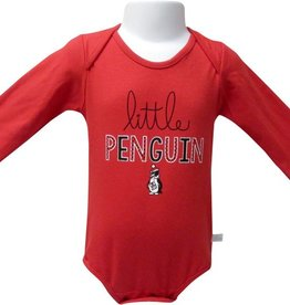 THIRD STREET SPORTSWEAR Youngstown State Penguins Long Sleeve Little Penguin Onesie