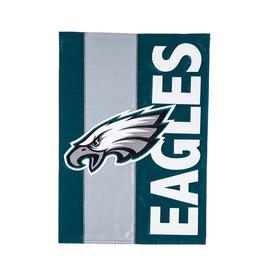 EVERGREEN Philadelphia Eagles Stripe Garden Flag
