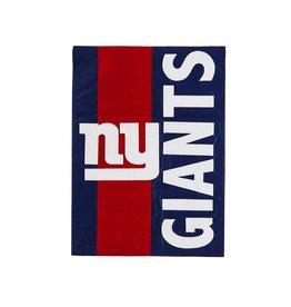 EVERGREEN New York Giants Stripe Garden Flag