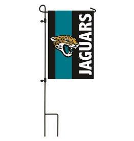 Jacksonville Jaguars Stripe Garden Flag