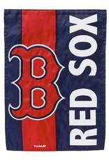 EVERGREEN Boston Red Sox Stripe Garden Flag