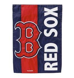 Boston Red Sox Stripe Garden Flag