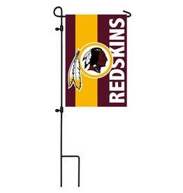 EVERGREEN Washington Redskins Stripe Garden Flag