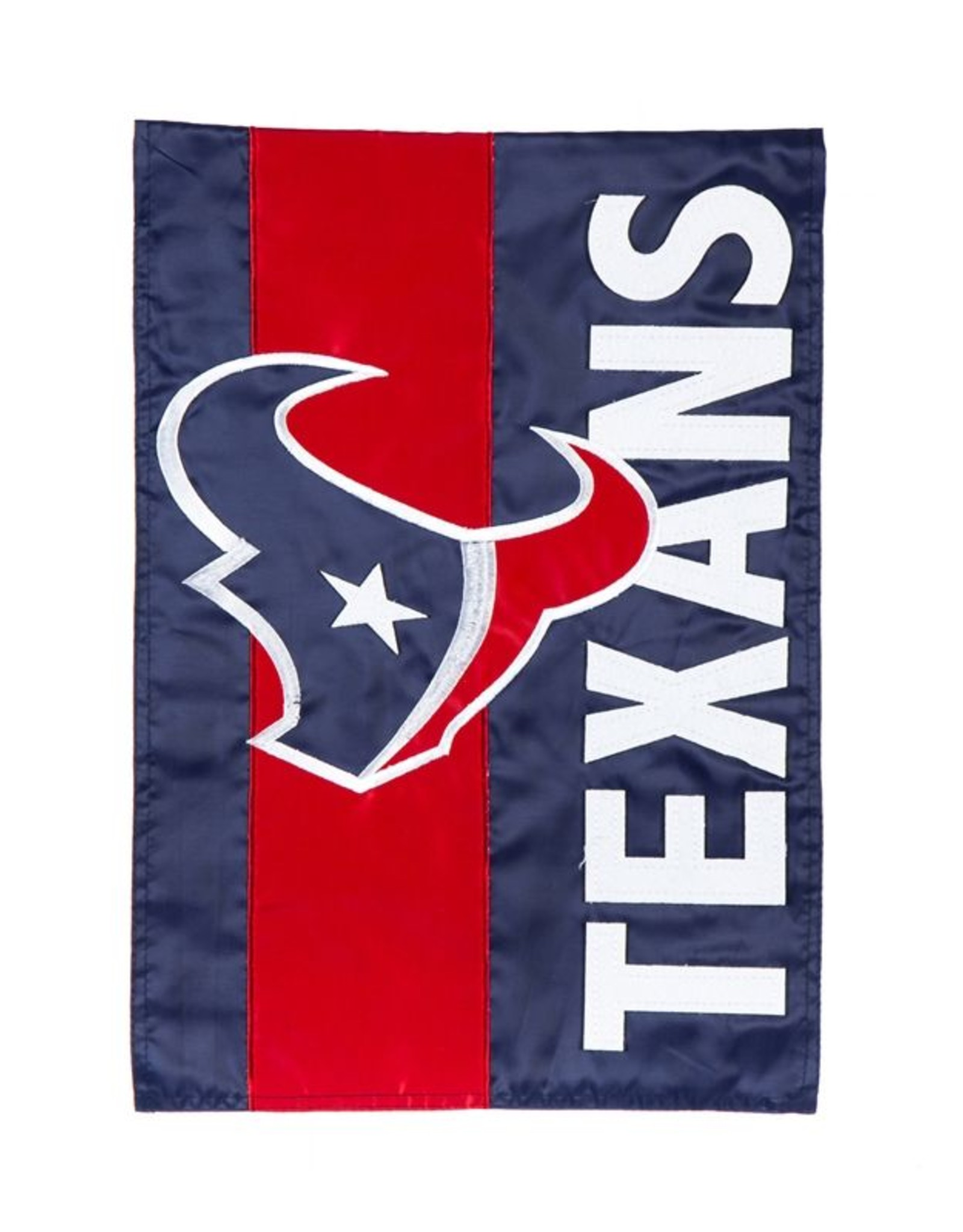 EVERGREEN Houston Texans Stripe Garden Flag