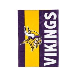Minnesota Vikings Stripe Garden Flag